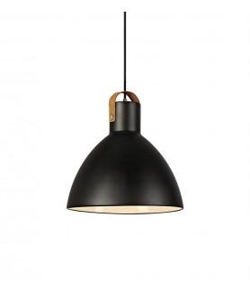 Lampa wisząca EAGLE Pendant 35cm Black 106550 czarny MARKSLOJD