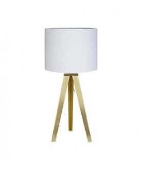 Lampa stołowa FIORI Table 58cm Brass/White 106561 mosiądz/biały MARKSLOJD