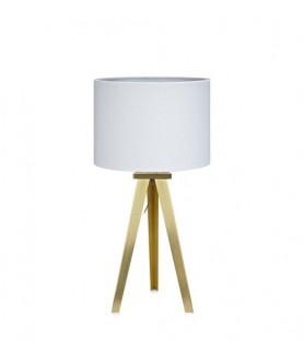 Lampa stołowa FIORI Table 45cm Brass/White 106562 mosiądz/biały MARKSLOJD