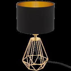 Lampa stołowa CARLTON 2 95788 czarny/złoty EGLO