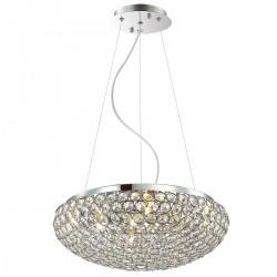 Lampa wisząca SANTO MA04995CA-007 chrom ITALUX