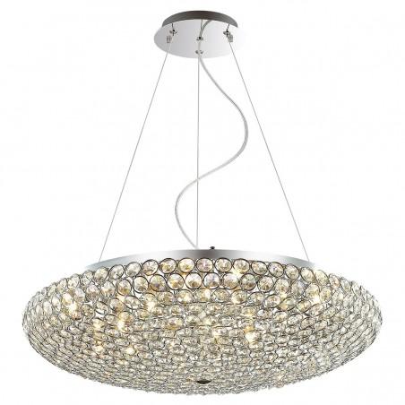 Lampa wisząca SANTO MA04995CA-012 chrom ITALUX