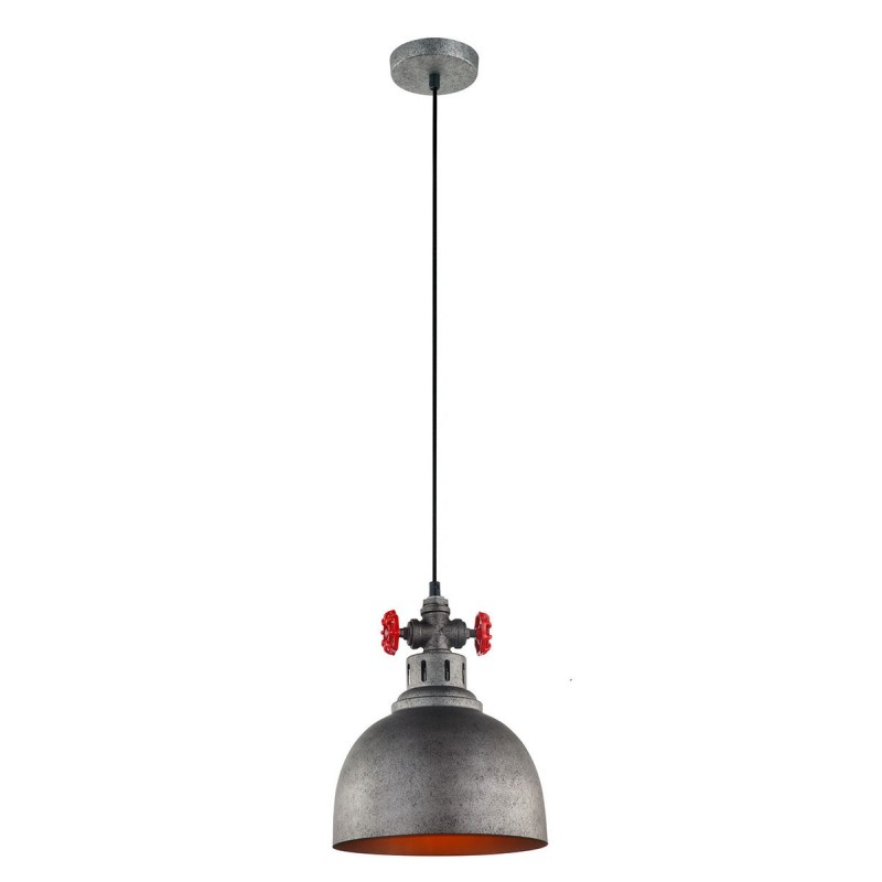 Lampa wisząca SCRULO MDM-2790/1 GR+BK szary ITALUX