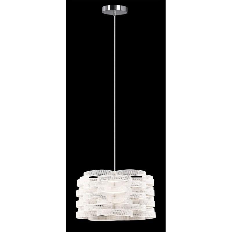 Lampa wisząca DELTA MDM1692/1A W biały ITALUX