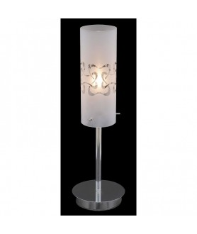 Lampa stołowa FANTAZY MTM1715/1B chrom ITALUX