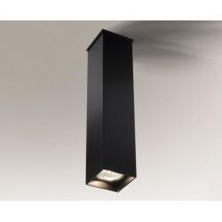 Lampa plafon TODA 1102 czarna SHILO