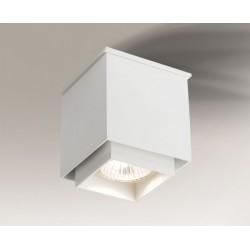 Lampa plafon TODA 1101 czarna SHILO