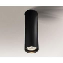 Lampa plafon ARIDA 1109 czarna SHILO