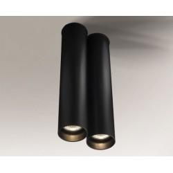 Lampa plafon ARIDA 1113 czarna SHILO
