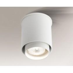 Lampa plafon KAZO 1107 biała SHILO
