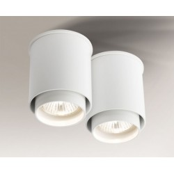 Lampa plafon IGA 1115 biała SHILO