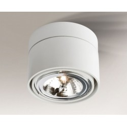 Lampa plafon OSAKA 1119 biała SHILO