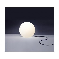 Lampa ogrodowa kula CUMULUS M 6977 biały NOWODVORSKI