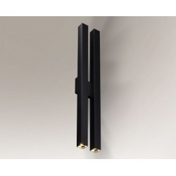 Lampa kinkiet DOHA 4703 czarna SHILO