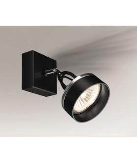 Lampa kinkiet FUSSA 2215 czarna SHILO