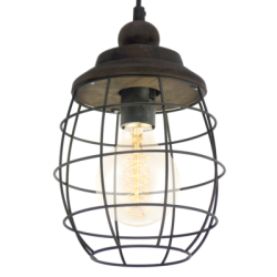 Lampa latarnia wisząca 49219 Vintage EGLO