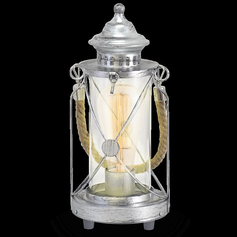 Lampa stołowa Latarnia 49284 Vintage EGLO
