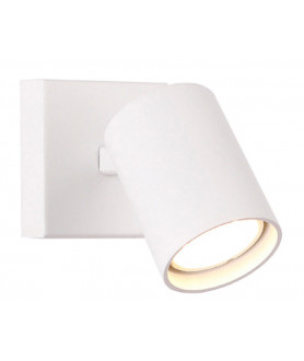 Lampa kinkiet TOP 1 W0218 biała MAX LIGHT