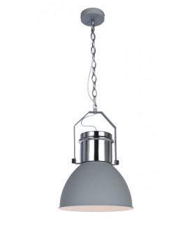 Lampa wisząca KUTUM 15281G szary/chrom GLOBO
