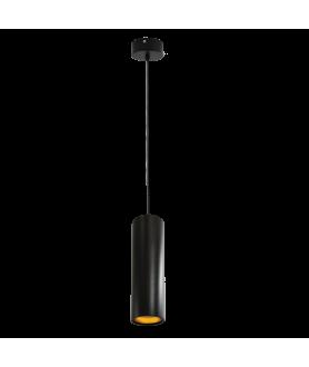 Lampa plafon LATI 309112 czarna IL MIO