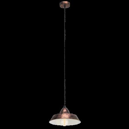 Lampa wisząca 49243 Vintage EGLO