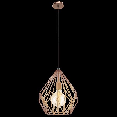 Lampa wisząca 49258 Vintage EGLO