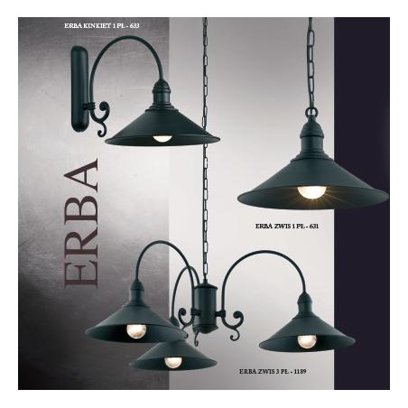 Kinkiet ERBA 632 ARGON biały