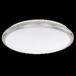 Plafon MANILVA 93498 biały/nikiel EGLO