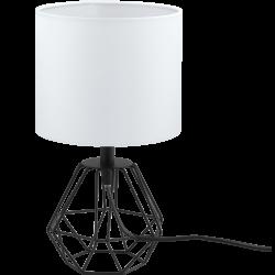 Lampa stołowa CARLTON 2 95789 biały/czarny EGLO
