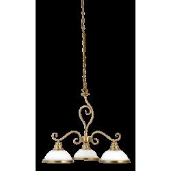 Lampa wisząca ELISETT 2753 biały/brąz RABALUX