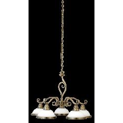 Lampa wisząca ELISETT 2755 biały/brąz RABALUX