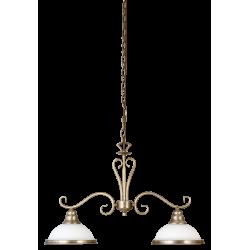 Lampa wisząca ELISETT 2757 brąz/biały RABALUX