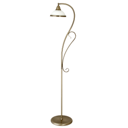 Lampa stojąca ELISETT 2758 biały/brąz RABALUX