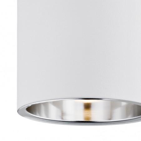 Plafon Tuba TYBER 475 ARGON biały