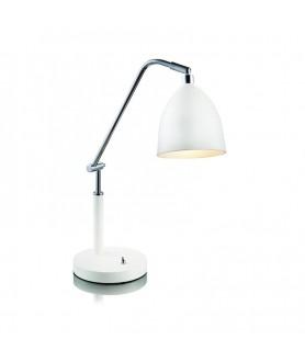Lampa stołowa FREDRIKSHAMN 105024 biała MARKSLOJD