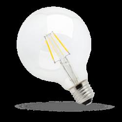 Żarówka dekoracyjna LED 4W E27 COG