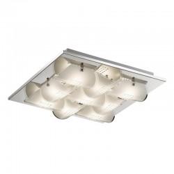 Plafon DAZE C29373F-2 biały/chrom ITALUX