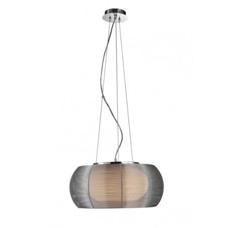 Lampa wisząca TANGO MD1104-2 srebrna ZUMA LINE