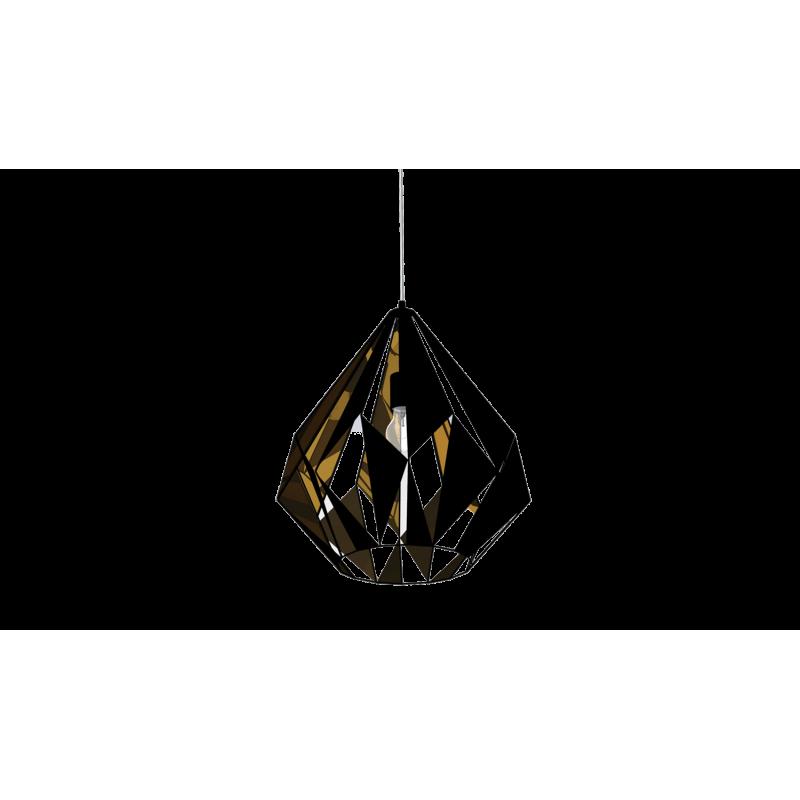 Lampa wisząca CARLTON 49878 czarny EGLO