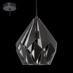 Lampa wisząca CARLTON 49255 czarny EGLO