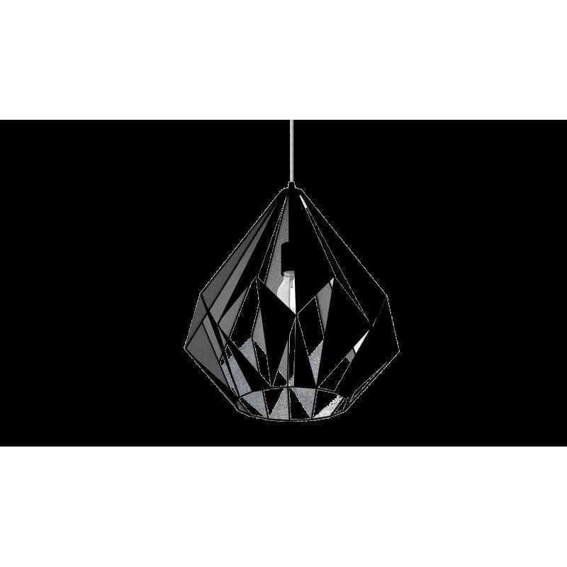 Lampa wisząca CARLTON 49879 czarny EGLO