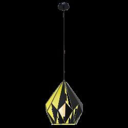 Lampa wisząca CARLTON 49256 czarny EGLO