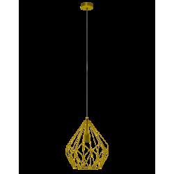 Lampa wisząca CARLTON 49933  złoty EGLO
