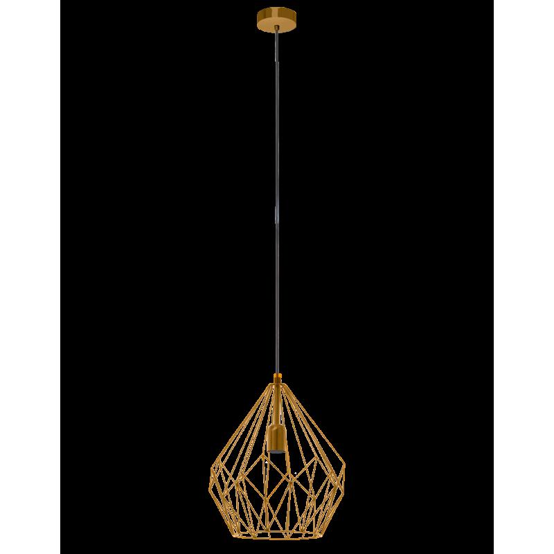 Lampa wisząca CARLTON 49934 pomarańczowy EGLO