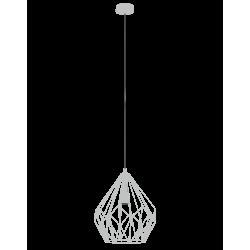 Lampa wisząca CARLTON 49935 biały EGLO