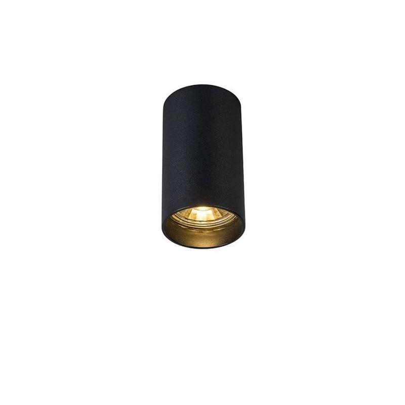 Lampa plafon TUBA SL 1 92680 czarna ZUMA LINE