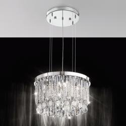 Lampa wisząca CALAONDA 93425 chrom EGLO