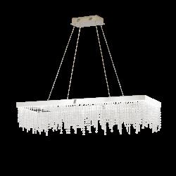 Lampa wisząca ANTELAO 39283 chrom EGLO