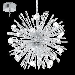 Lampa wisząca VIVALDO 1 39261 chrom EGLO