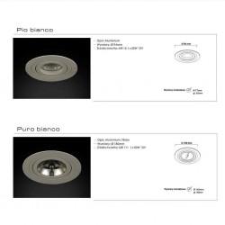 Oprawa PURO BIANCO biały ORLICKI DESIGN
